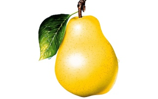 Yellow pear wallpapers and stock photos