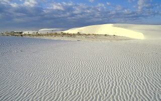 Gypsum Sand Dunes wallpapers and stock photos