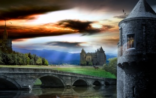 Timeles castle wallpapers and stock photos