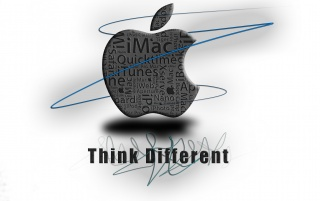 think Different*2 wallpapers and stock photos