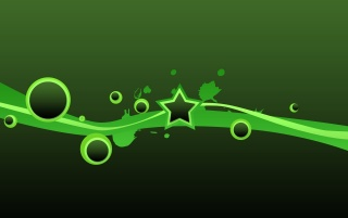 Green star vectors wallpapers and stock photos