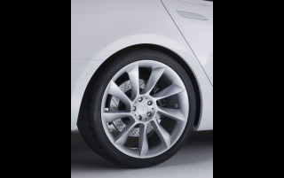 Tesla S wheel wallpapers and stock photos