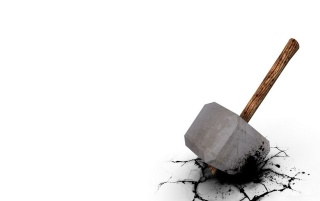 Hammer in the floor wallpapers and stock photos