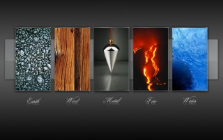Five elements wallpapers and stock photos