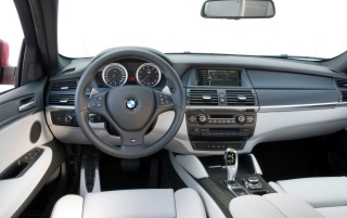BMW X6 M interior wallpapers and stock photos