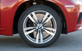 BMW X6 M wheel wallpapers and stock photos