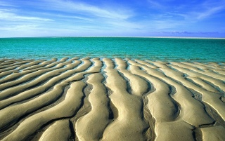 Sand Ripples wallpapers and stock photos