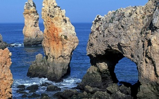 Ponta da Piedade wallpapers and stock photos
