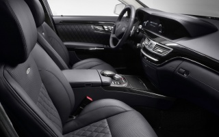 S class AMG interior wallpapers and stock photos