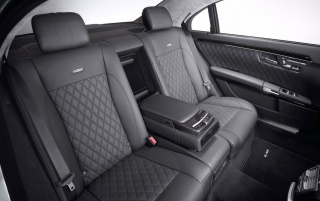 Next: S class rear seats