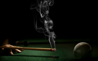 Smoking pool wallpapers and stock photos