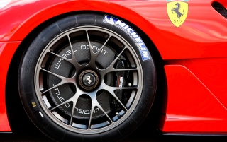 Ferrari 599XX wheel wallpapers and stock photos