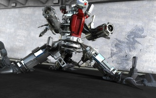 Metallic robot wallpapers and stock photos