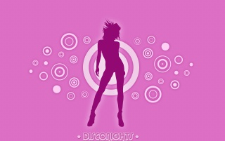 Disco nights pink wallpapers and stock photos