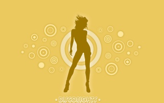 Disco nights yellow wallpapers and stock photos