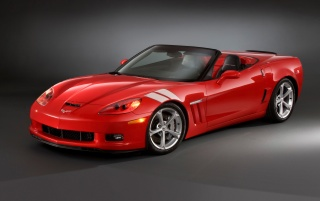 Corvette front angle wallpapers and stock photos