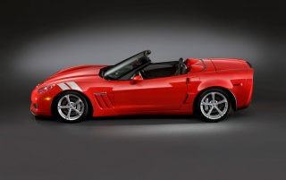 Corvette Seite wallpapers and stock photos