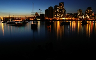Harbour lights wallpapers and stock photos