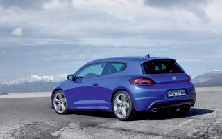 Scirocco R rear wallpapers and stock photos