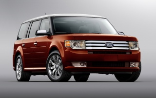 Red Ford suv wallpapers and stock photos