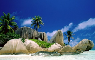 La Digue Islands wallpapers and stock photos