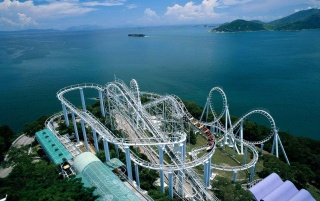 Hong Kong coaster wallpapers and stock photos