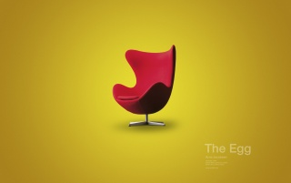 The egg chair wallpapers and stock photos