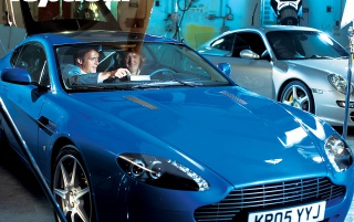 Previous: Top Gear blue car