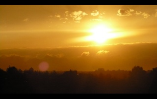 Sunset wallpapers and stock photos