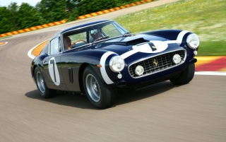 Ferrari 250 front wallpapers and stock photos