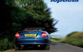 Top Gear blaues Auto wallpapers and stock photos