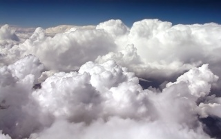 Beautiful white clouds wallpapers and stock photos