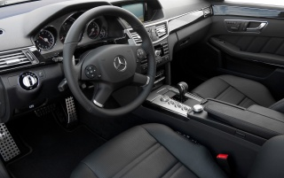 E 63 AMG interior wallpapers and stock photos