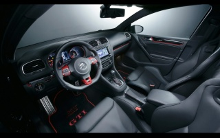 VW GTI ABT interior wallpapers and stock photos