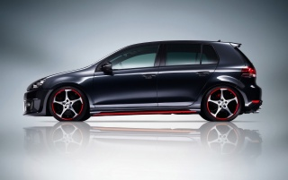 VW GTI ABT side wallpapers and stock photos
