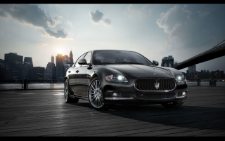 Maserati Quattroporte Sport GT S wallpapers and stock photos