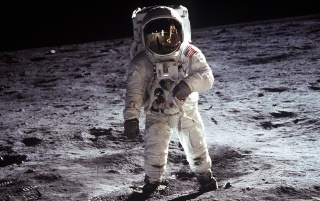 Apollo 11 - Moonman wallpapers and stock photos