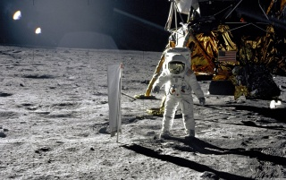 Apollo 11 - Moonman 3 wallpapers and stock photos