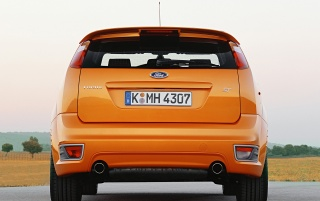 Ford Focus ST 4 back wallpapers and stock photos
