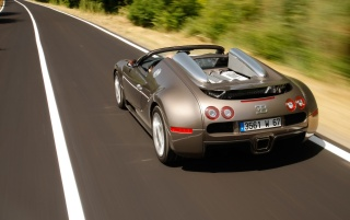 Bugatti Veyron Speed 2 wallpapers and stock photos