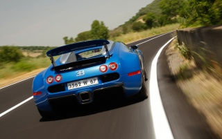 Bugatti Veyron Speed 3 wallpapers and stock photos