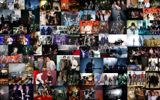 Rascal Flatts Photo Collage 1 wallpapers and stock photos