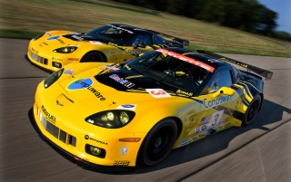 Chevrolet Corvette C6 R GT2 Duo 1 wallpapers and stock photos