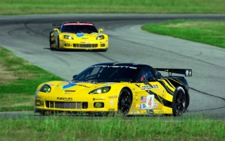 Chevrolet Corvette C6 R GT2 Duo 3 wallpapers and stock photos
