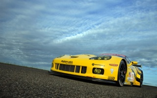 Chevrolet Corvette C6 R GT2 Front Angle wallpapers and stock photos