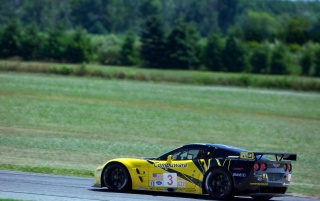Chevrolet Corvette C6 R GT2 Right Side Sped wallpapers and stock photos