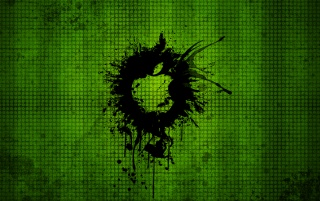 Random: Crazy grunge Apple background