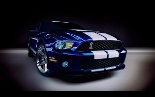 Ford Shelby GT500 Studio wallpapers and stock photos