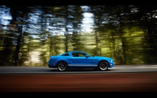 Ford Shelby GT500 Side Speed wallpapers and stock photos