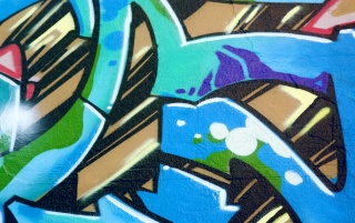 Graffiti Blue wallpapers and stock photos